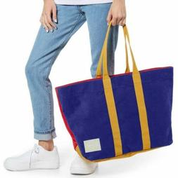 NWT Herschel Supply Co. Skaha Tote - Blue Red Gold Color Blo