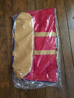 NWT Herschel Supply Co. Skaha Tote - Blue/Red/Gold