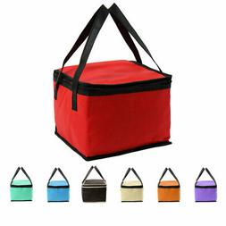 Portable Large Cooler Insulated Lunch Storage Tote Bags with