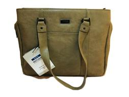 Kenneth Cole Reaction R-tech Work Tote Taupe 15 Inch Laptop