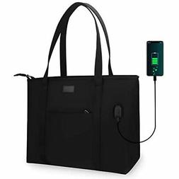 Relavel Laptop Tote Bag For Men And Women Business Work Teac