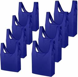 Reusable Grocery Bags Foldable Shopping Totes Bags 8 Pack 2