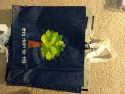 Reusable Grocery Bags - pack of 5, Go Green! Save the Earth.