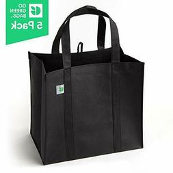 Reusable Grocery Bags  - Hold 40+ lbs - Extra Large & Super
