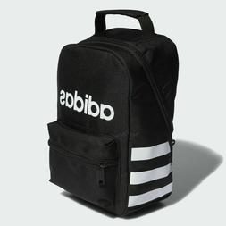 ADIDAS Santiago Black White Lunch Box Insulated School Tote