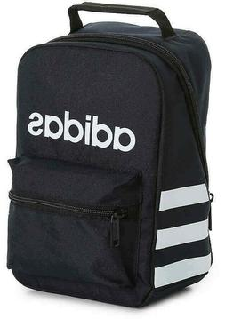 Adidas Santiago Insulated Lunch Box Bag School Tote Black Wh