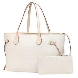Daisy Rose Shoulder Bag with inner pouch - PU Vegan Leather