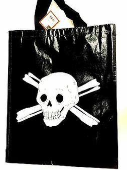 Skull Crossbones Pirate Reusable Tote Gift Party Favor Bags
