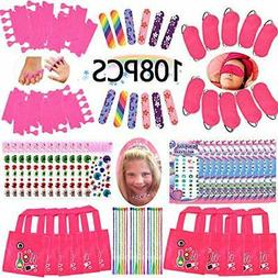Spa Party Favors for Girls Multiple Spa Party Supplies- (12