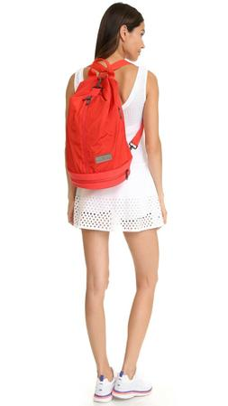 Adidas By Stella McCartney Sports Bag Backpack Tote Gym Red