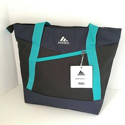 Adidas Squad III Large Tote Bag Black Navy Teal New with Tag