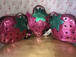 💋 Betsey Johnson Strawberry LRG Insulated Lunch Tote Bag