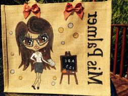 Teachers Gifts For All Personalised Jute bags A Gift Your Te