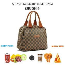 thermal insulated lunch bag cooler tote bags