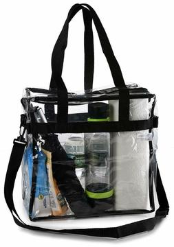 Tote Clear Box Bag By Handy-Laundry Shoulder Strap Front Sto