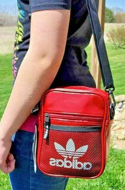 Adidas Unisex Messenger Crossbody Shoulder Bag Festival Tote