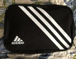Vintage ADIDAS Compact Travel Bag Zipper Tote Toiletry Makeu