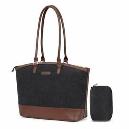 Women Casual Handbag Briefcase for Work Computer 15.6 inch L