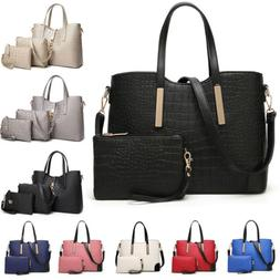 Women's PU Leather Handbags Satchel Crossboy Bags Purse Shou