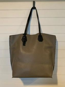 KENNETH COLE REACTION Women's Large Dark Grey Vegan Tote B